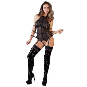 Cottelli Collection - Bondage Body With Garters