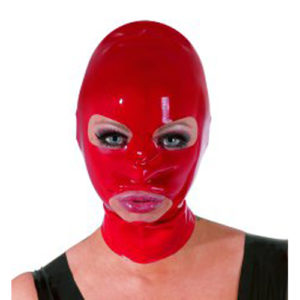 The Latex Collection - Latex Mask red