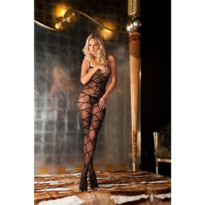 Rene Rofe - Strapped up sheer bodystocking