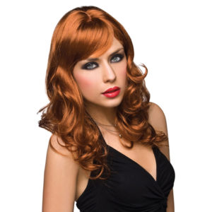 Pleasure Wigs Aubrey Wig - Red