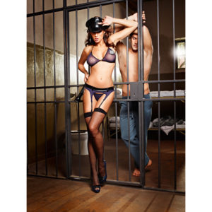 Baci Lingerie Baci - Night Patrol Police Officer Set One Size