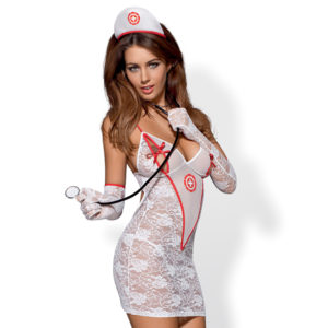 Obsessive Obsessive - Medica Dress Costume L/XL