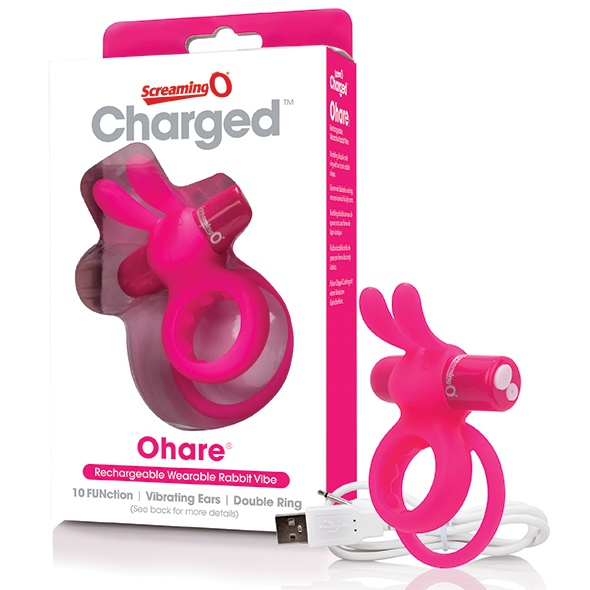 The Screaming O The Screaming O - Charged Ohare Rabbit Vibe Pink