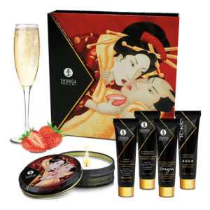 Shunga Shunga - Geisha Sparkling Strawberry Wine