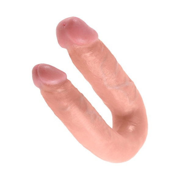 King Cock King Cock - U-Shaped Double Trouble Medium Flesh